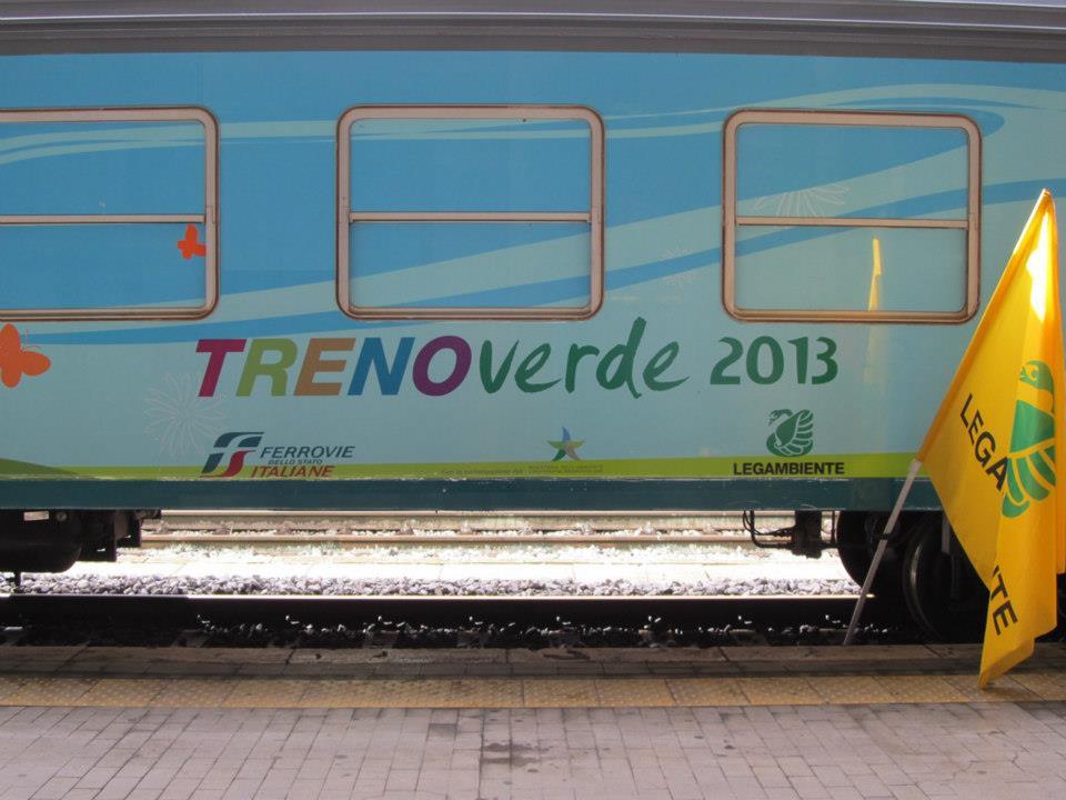 Treno Verde 2013 via facebook.com/trenoverde.legambiente