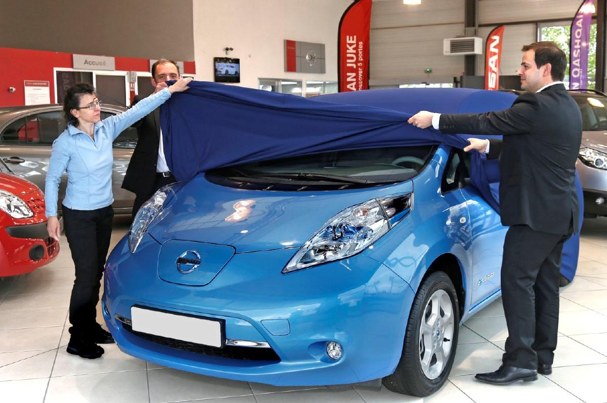 10000 Nissan Leaf Europa