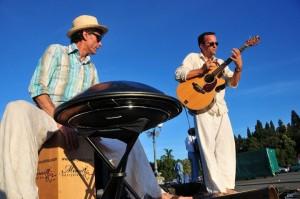 Acoustic Spirit Duo in azione