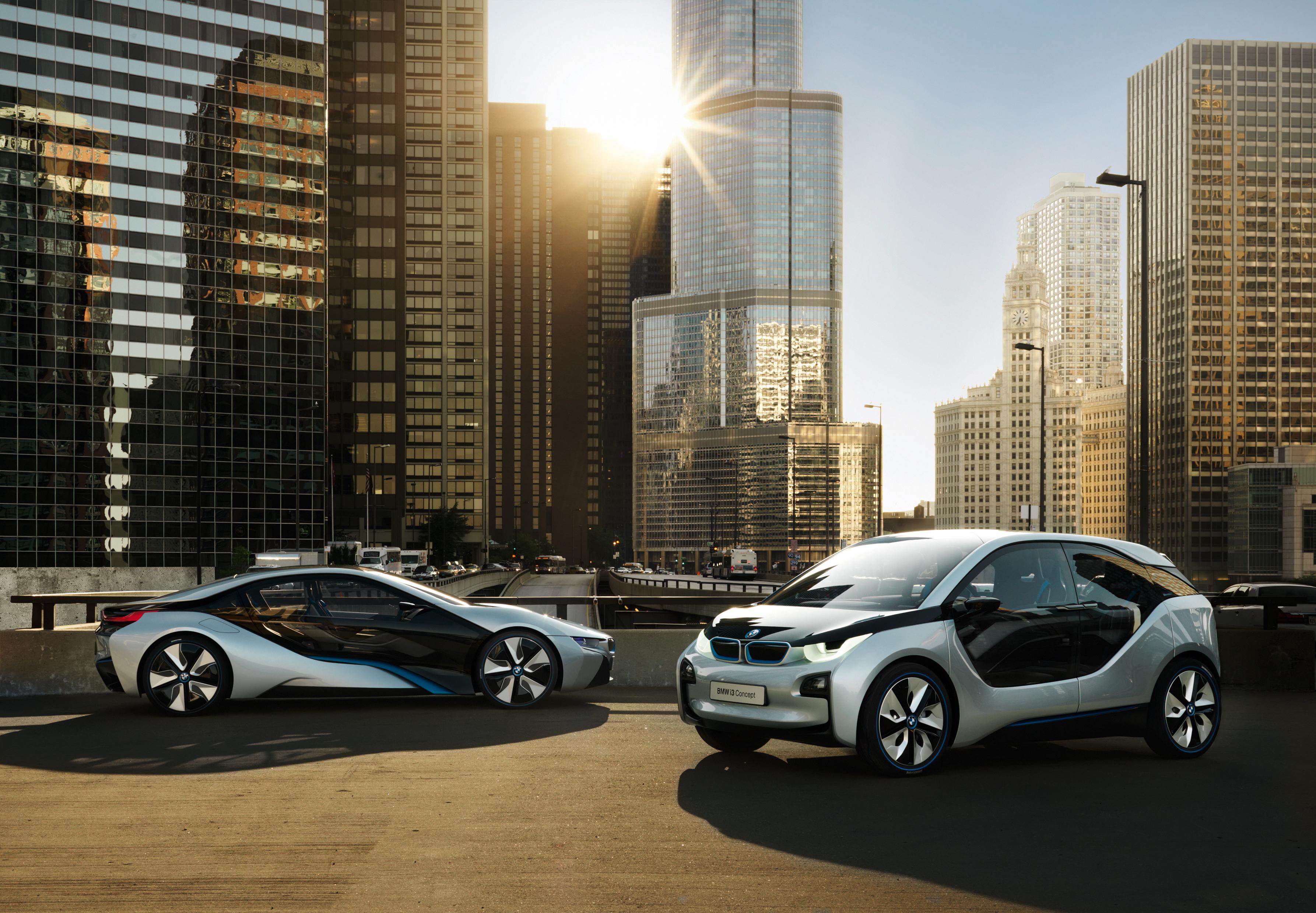 BMW i3-i8