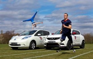 Nissan olympic paralympic team GB