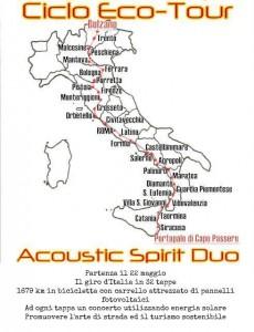 Acoustic Spirit Duo tappe del tour