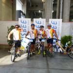 Giro delle Dolomiti 2013 - Frisbee