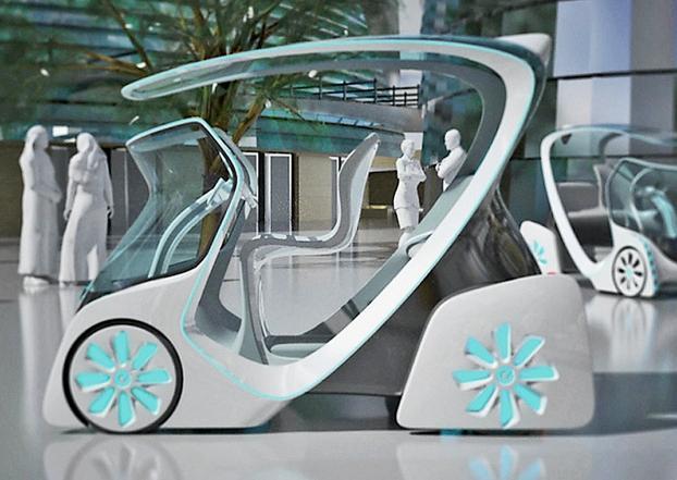 Nissan Pedestrian On Wheels