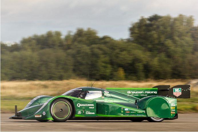 Lola B12 69:EV via Drayson Racing
