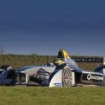 La Spark-Renault SRT_01E al debutto in pista