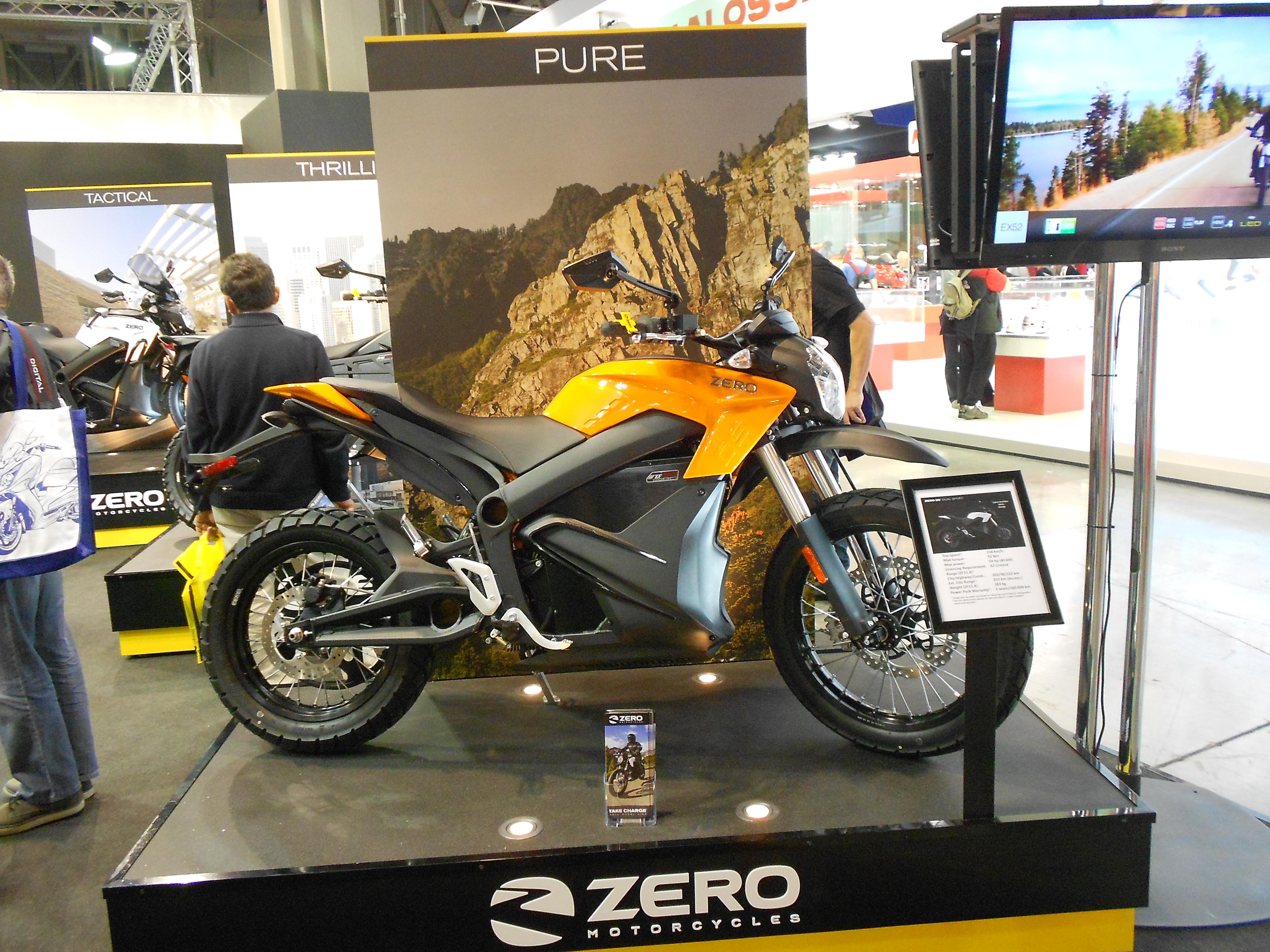 ZERO Motorcycles DS