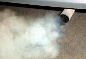 CO2 emessa dai gas di scarico