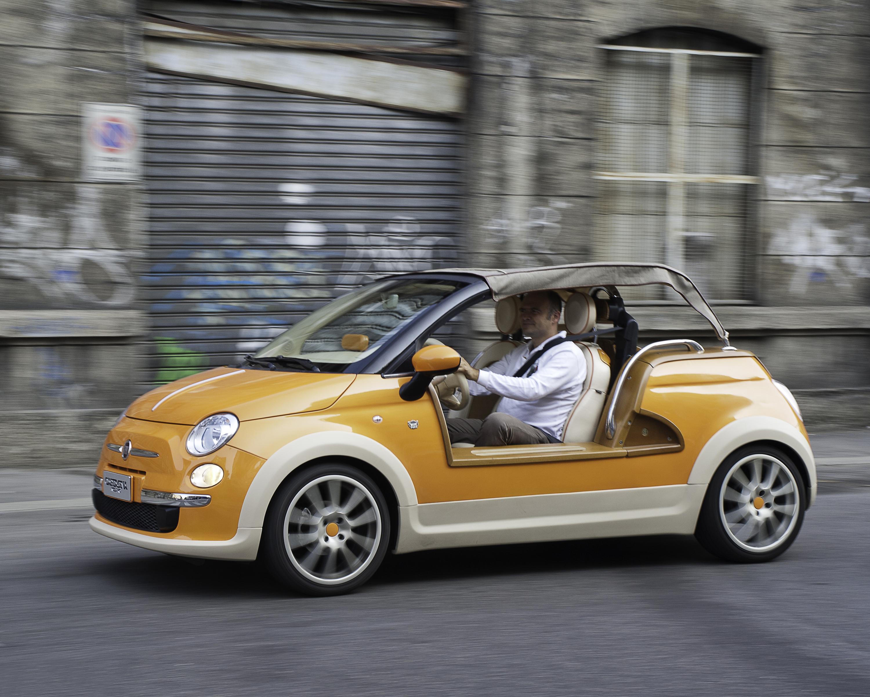 Fiat 500 Tender Two Castagna L Elettrica Che Fa Girar La Testa