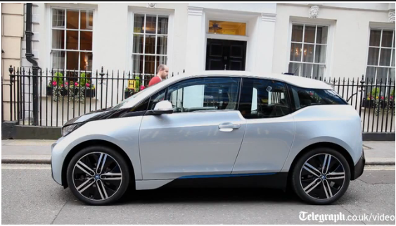 BMW i3 - Credit: The Telegraph