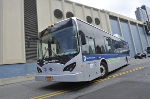 BYD electric bus - New York Transit Administration