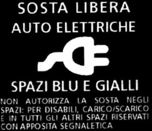 Sosta libera auto elettriche a Milano