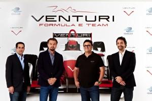 Leonardo DiCaprio al lancio del nuovo Venturi Grand Prix Formula E Team, New York