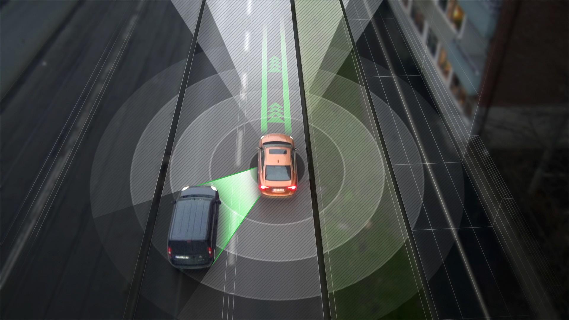 Volvo guida autonoma