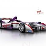 La monoposto del Virgin Formula E Team