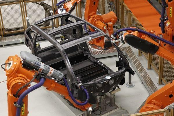 Il telaio in CFRP della BMW i3