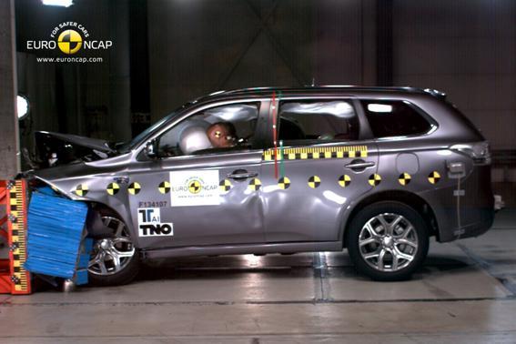 Mitsubishi Outlander PHEV Euro NCAP