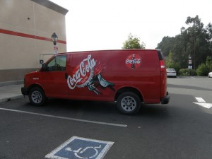 Coca Cola Chevrolet Express