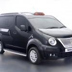 Nissan taxi Londra