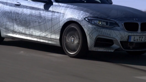 BMW M235i autoguida CES Las Vegas
