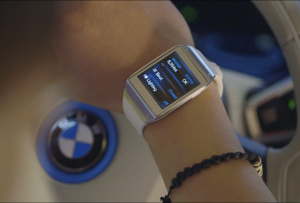 BMW i3 e Samsung Galaxy Gear