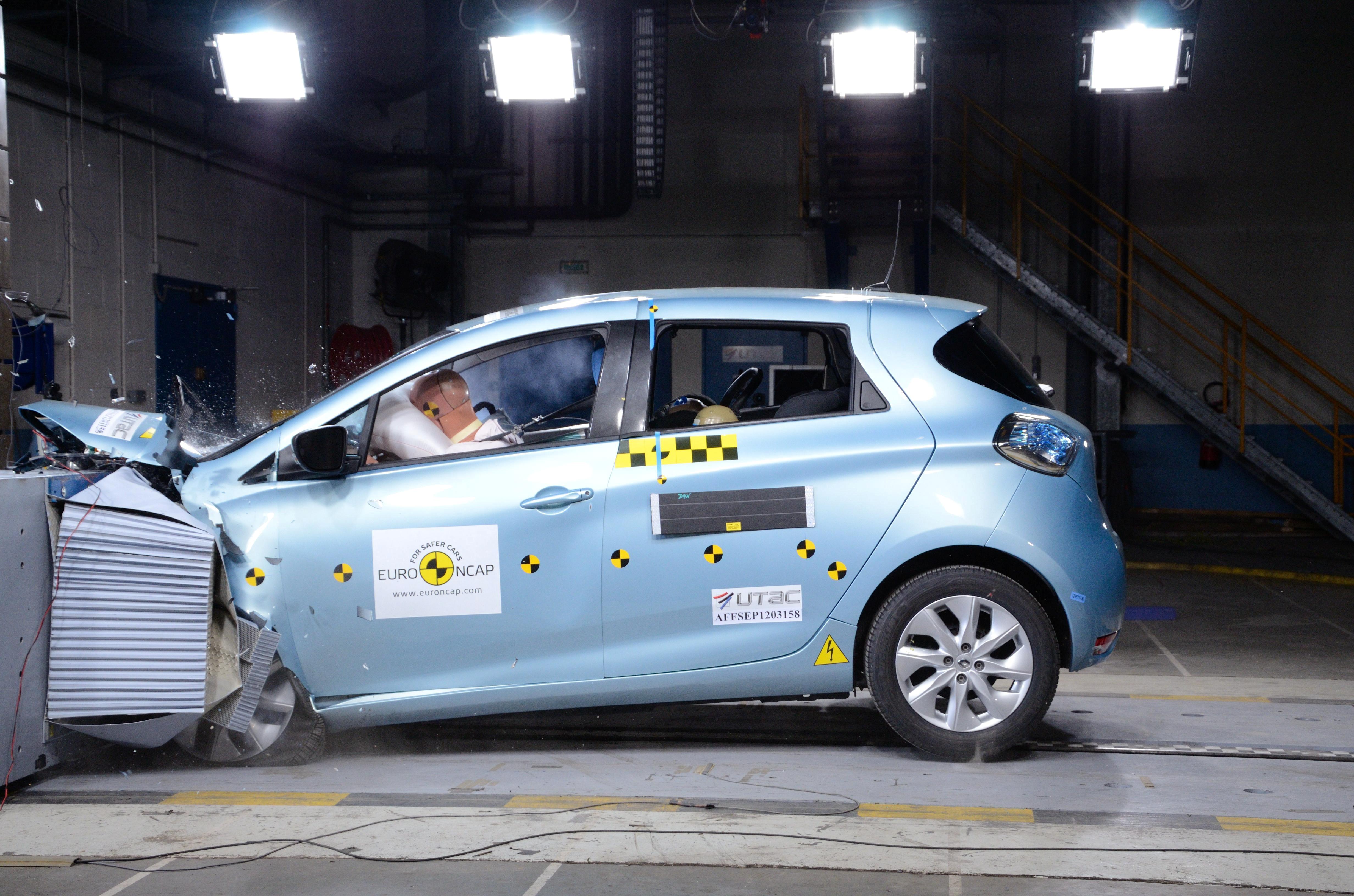 Renault Zoe Euro NCAP