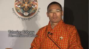 Tshering Togbay, premier del Bhutan via Nissan
