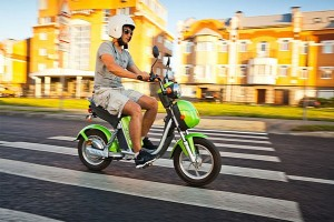 Scooter elettrico - image via EV World
