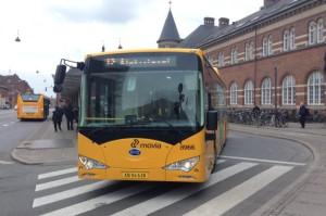 BYD ebus a Copenhagen