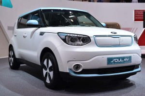 Kia Soul EV - Credit: Salon de Geneve via salon-auto.ch