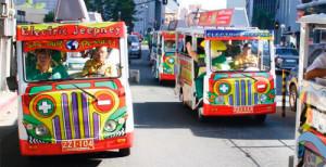 e-jeepneys - Credit: http://www.ejeepney.com.ph/