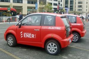 Th!nk City electric cars - photo credit: mariordo59 via photopin cc