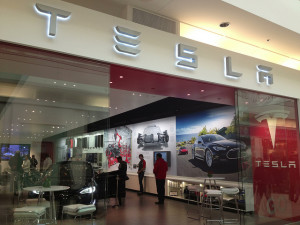 Tesla Store - photo credit: CC Chapman via photopin cc