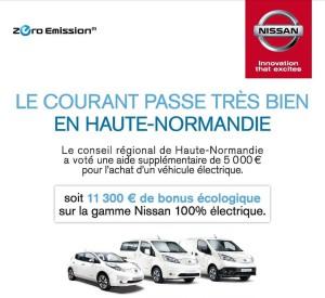 Nissan bonus ecologico Normandia