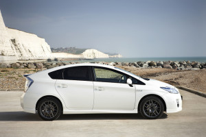 Toyota Prius - photo credit: Toyota UK via photopin cc