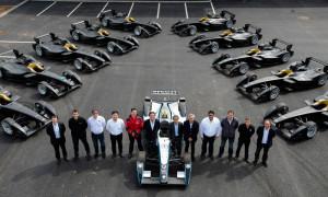 Prime monoposto elettriche ai team della Formula E nella nuova casa di Donington Park