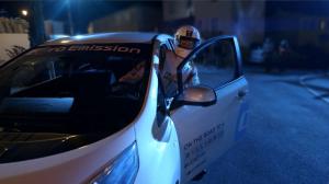 Nissan Leaf Giornata Sensibilizzazione Rumore 2