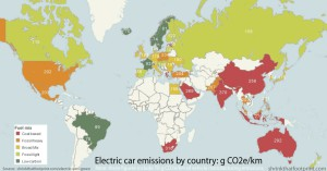Emissioni g CO2e/km per Paese - Credit: ShrinkThatFootprint