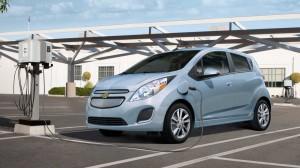 Chevrolet Spark EV - Credit: GM
