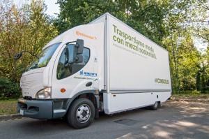 Newton, il camion elettrico usato da Niinivirta