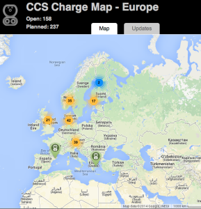 CCS Charge Map
