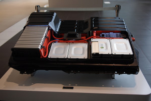 La batteria di una Nissan Leaf - photo credit: NISSANEV via photopin cc