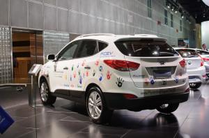 Hyundai Tucson Fuel Cell - photo credit: InSapphoWeTrust via photopin cc