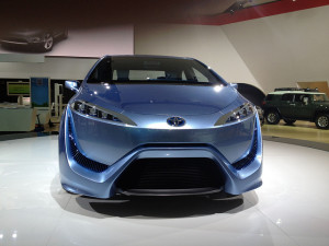 Toyota FCV-R - photo credit: lotprocars via photopin cc