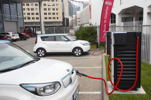 100kw dc fast charger at kme hq-1