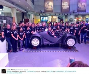 Local Motors via Twitter
