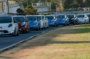 Nissan Leaf - photo credit: NISSANEV via photopin cc
