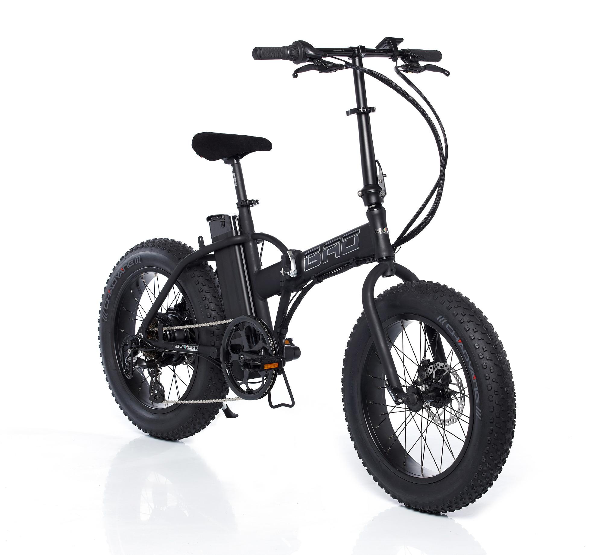 La Fat Bike Diventa Elettrica E Pieghevole Veicoli Elettrici