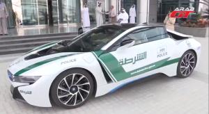 BMW i8 Dubai