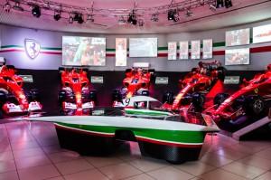 Fig. 3.Presentazione dell'autovettura presso la Galleria Ferrari
